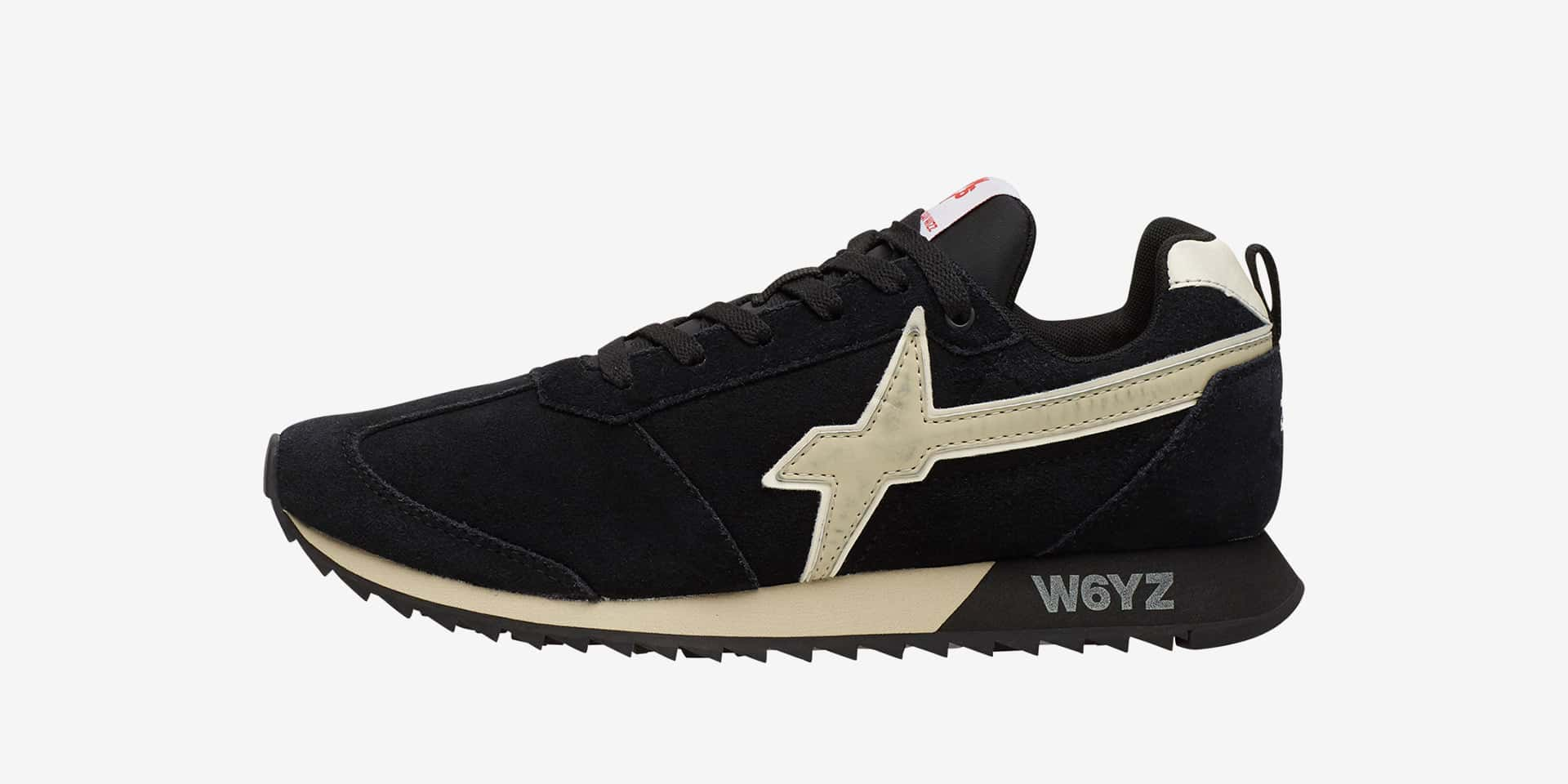 FLY-M. - Leather sneakers - Black