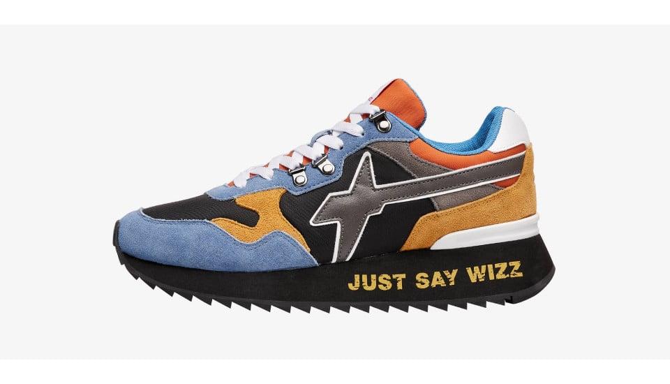 Sneaker in suede e tessuto tecnico Multicolore-YAK-M.