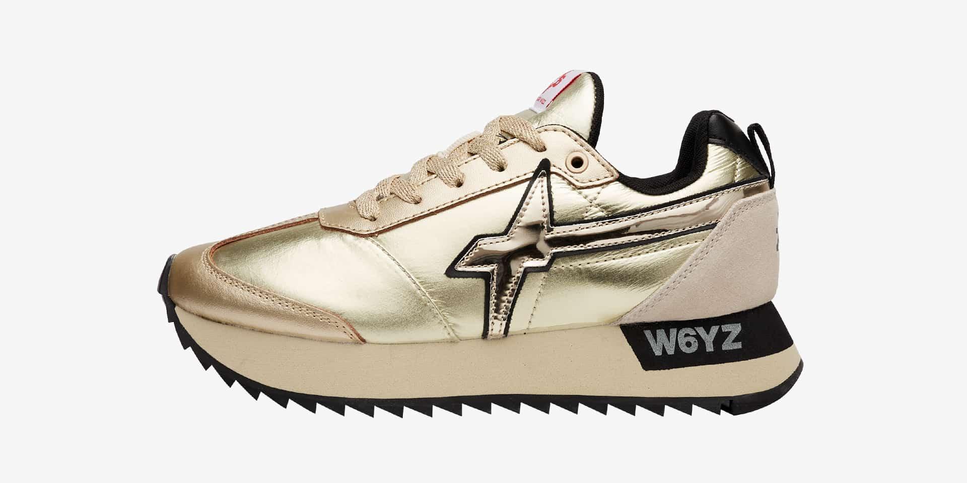 KIS-W. - Sneaker in tessuto tecnico - Platino