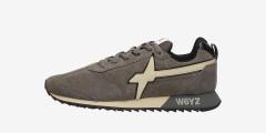 FLY-M. - Sneakers in pelle - Grigio
